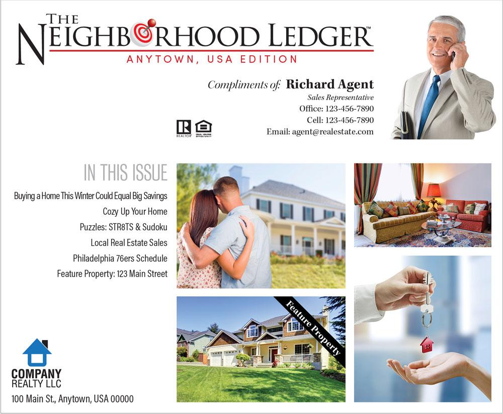 Neighborhood Ledger Real Estate Newsletter